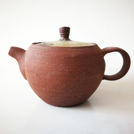 red clay teapot